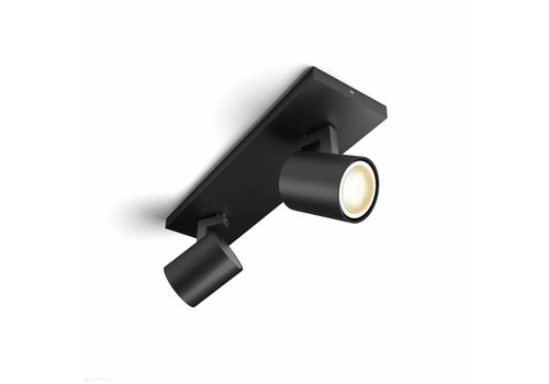 Philips Spot HUE Runner 2 lichts zwart