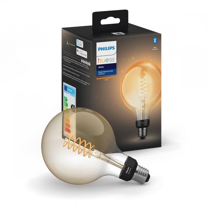 Philips HUE Lichtbron G125 Filament E27