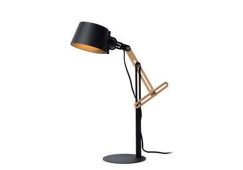 Lucide KREEN Bureaulamp-Zwart-1xE27-40W-Metaal