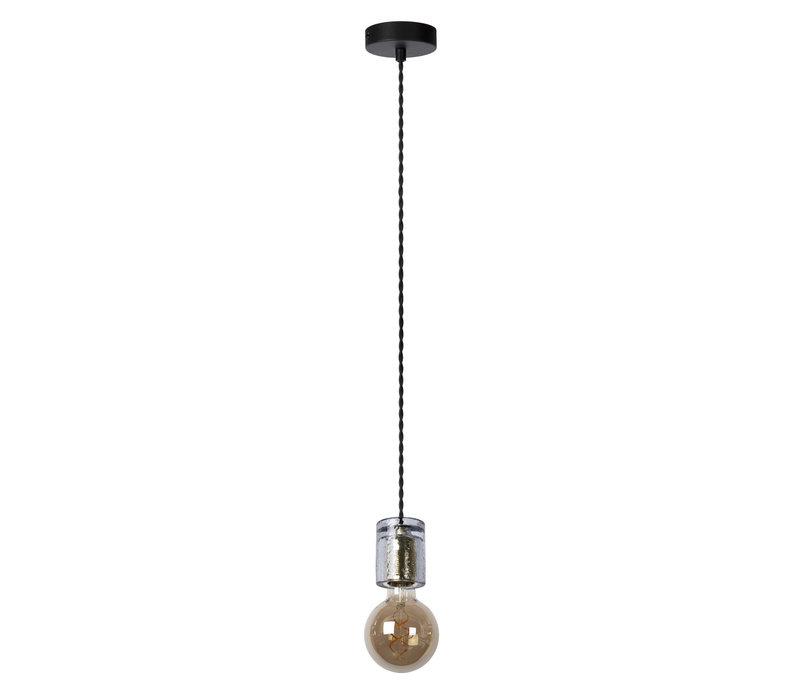 GELKA Hanglamp E27/40W Fumé glas
