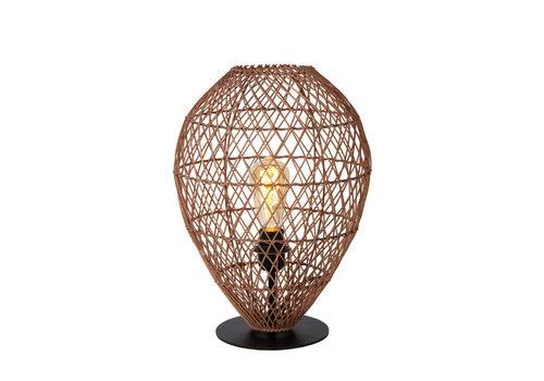 KENJIRO Tafellamp E27/40W Rotan Oker