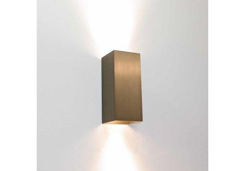 Artdelight Wandlamp Dante 2 lichts 15,5 x 6,5 cm licht brons