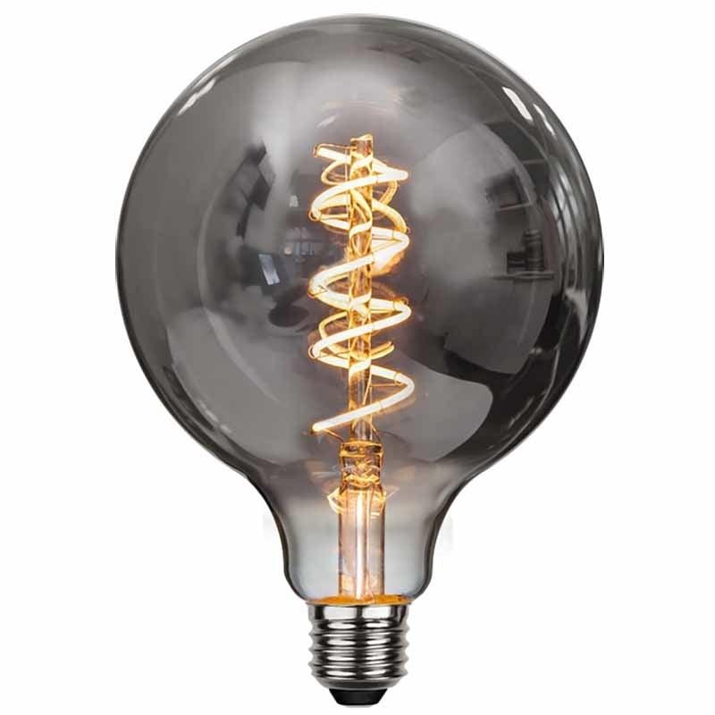 Highlight Lamp LED G125 9W 350LM 2200K Dimbaar Rook