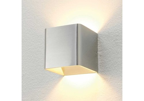 Artdelight Wandlamp Fulda 10x10 cm aluminium