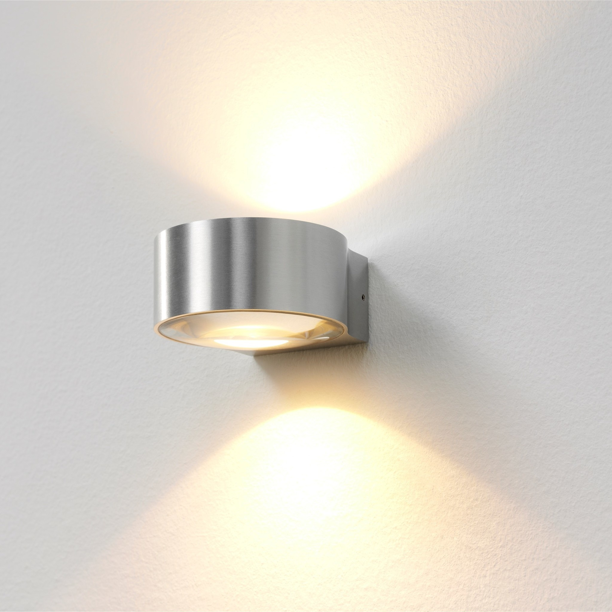 Artdelight Wandlamp Hudson Ø 11 cm aluminium
