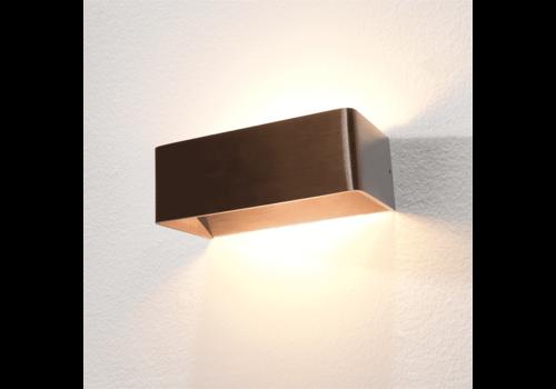 Artdelight Wandlamp Mainz 20 x 7 cm licht brons