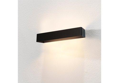 Artdelight Wandlamp Mainz XL 50 x 7 cm zwart