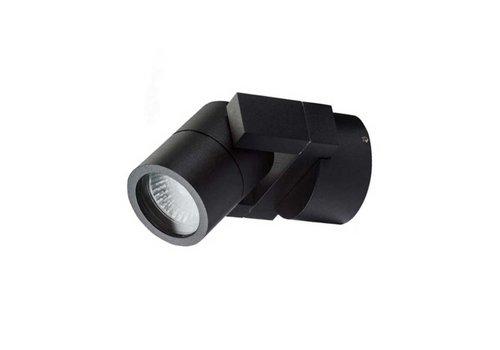 Artdelight Wandlamp Single zwart