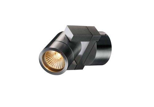 Artdelight Wandlamp Single aluminium