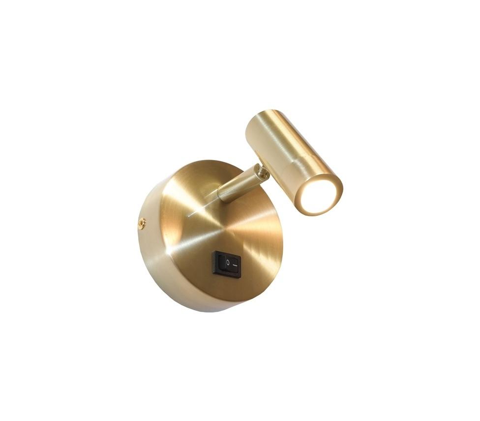 Artdelight Wandlamp Simply mat goud