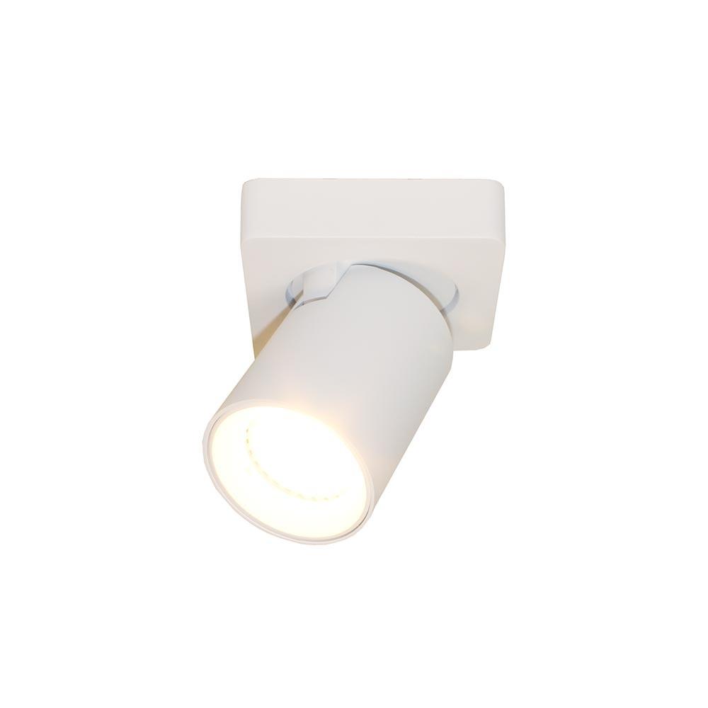 Artdelight Spot Megano 1 lichts wit