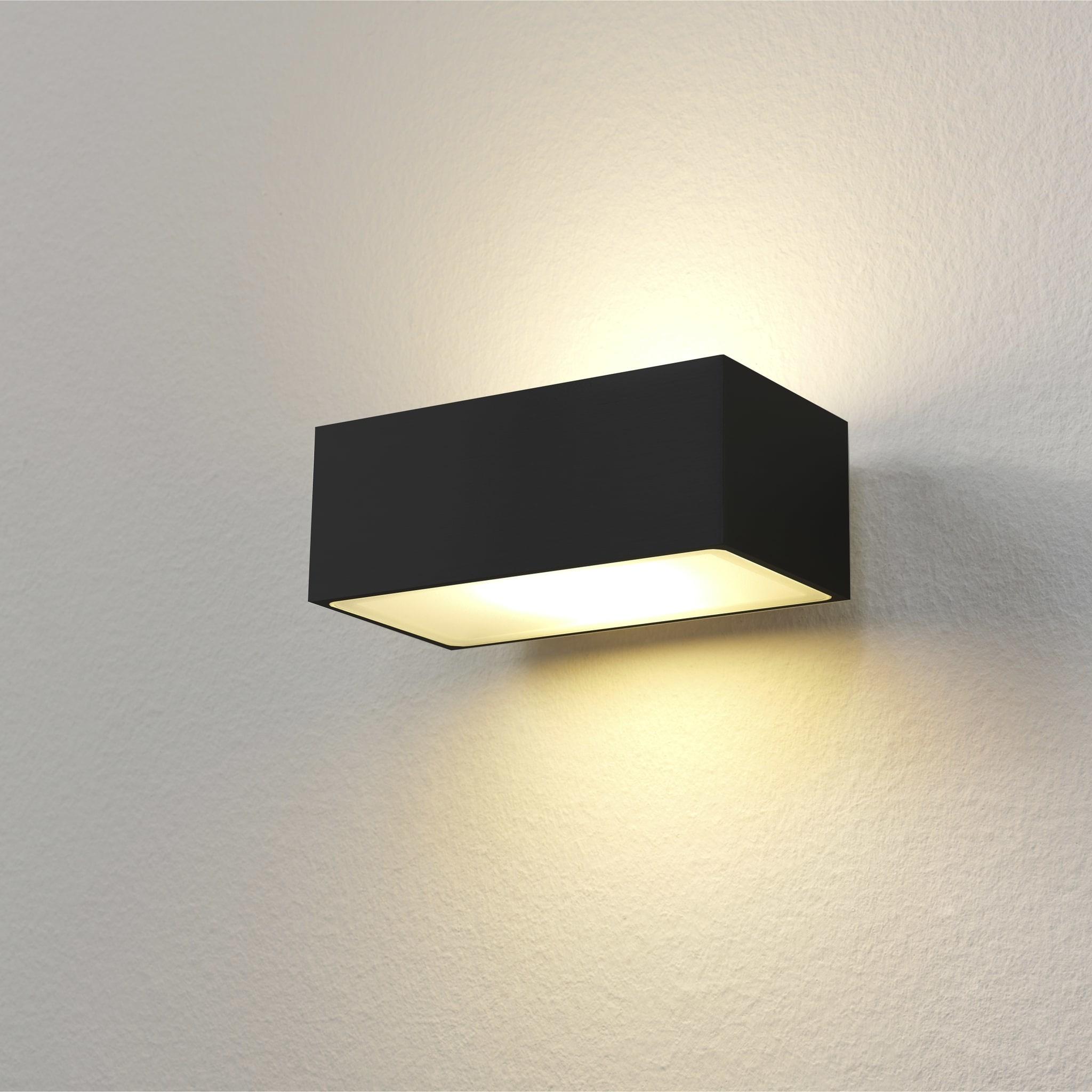 Artdelight Wandlamp Eindhoven L 13 cm zwart