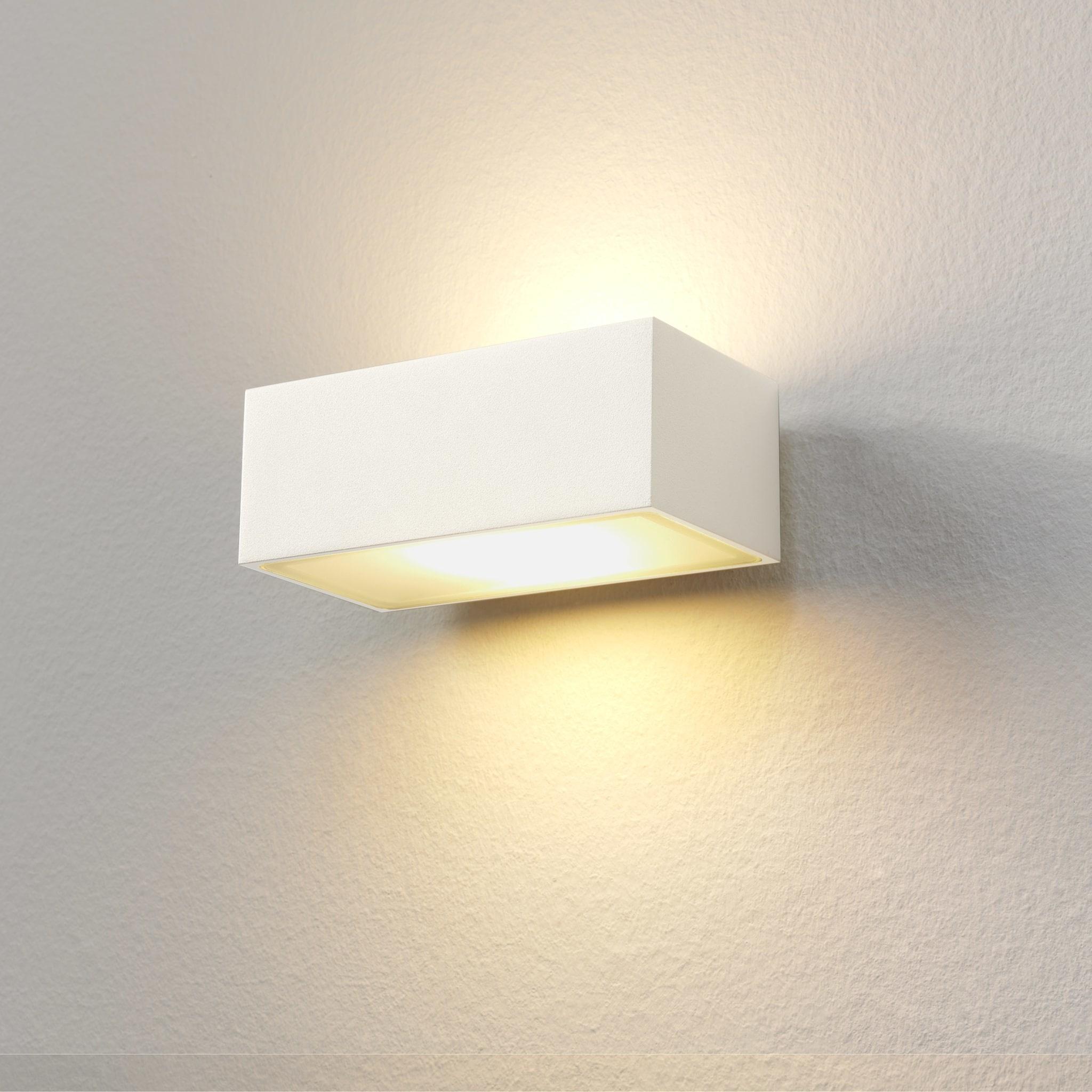 Artdelight Wandlamp Eindhoven L 13 cm wit