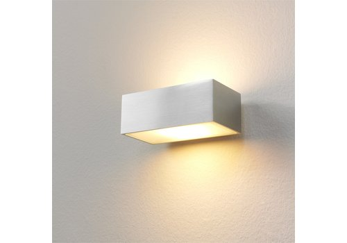 Artdelight Wandlamp Eindhoven L 13 cm aluminium
