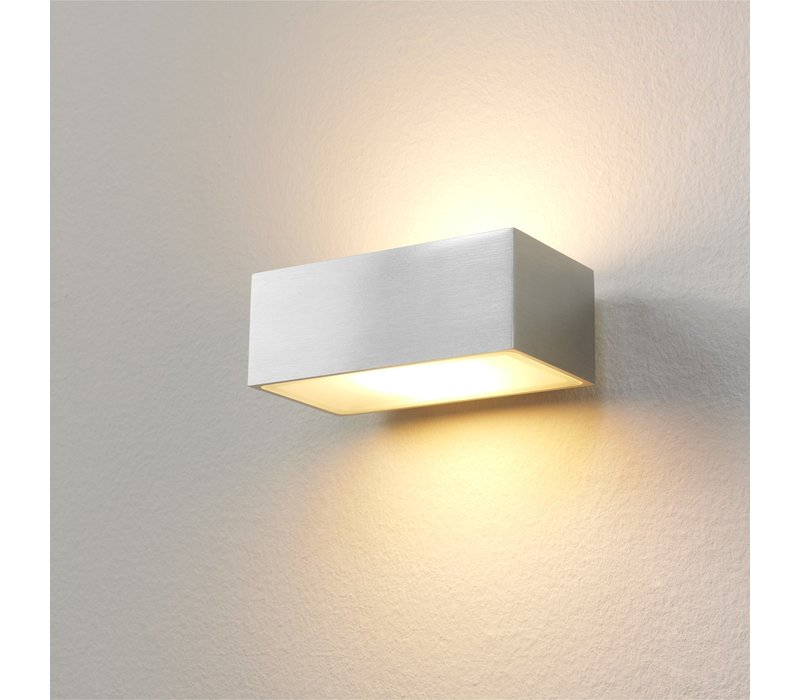 Wandlamp Eindhoven L 13 cm aluminium