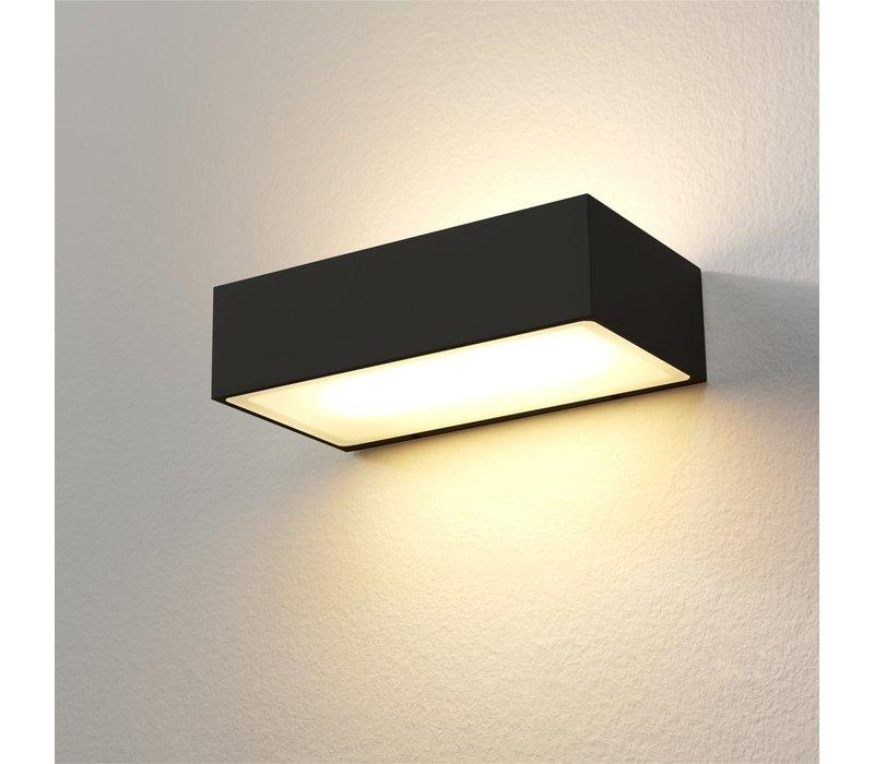 Wandlamp Eindhoven L 18 cm zwart