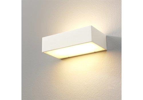 Artdelight Wandlamp Eindhoven L 18 cm wit