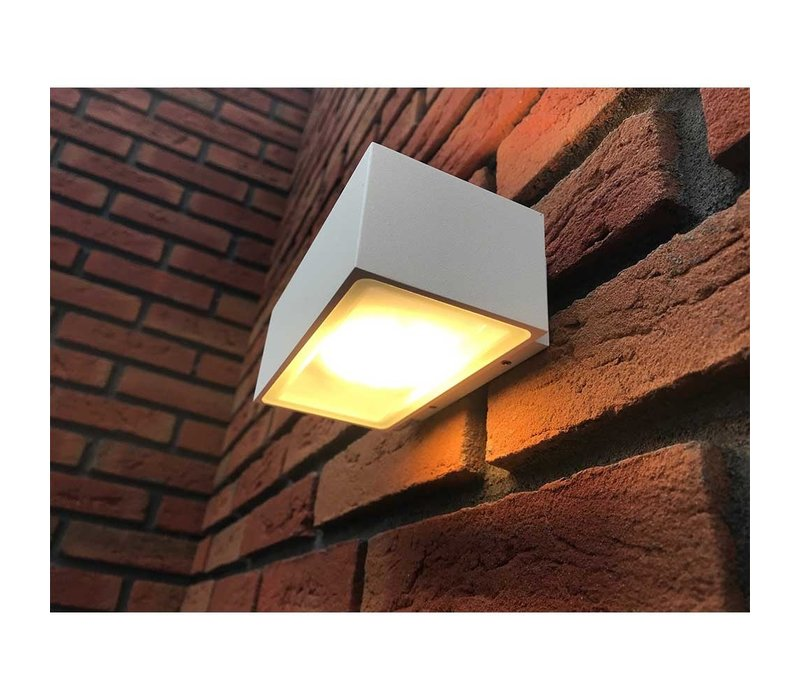 Wandlamp Eindhoven L 18 cm wit
