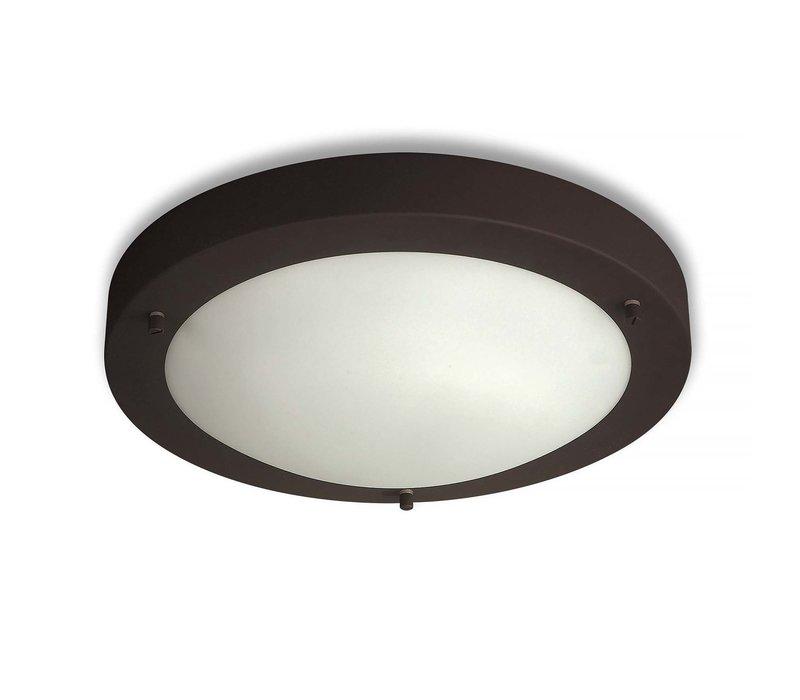 Plafondlamp Yuca Ø 30 cm 12 Watt zwart