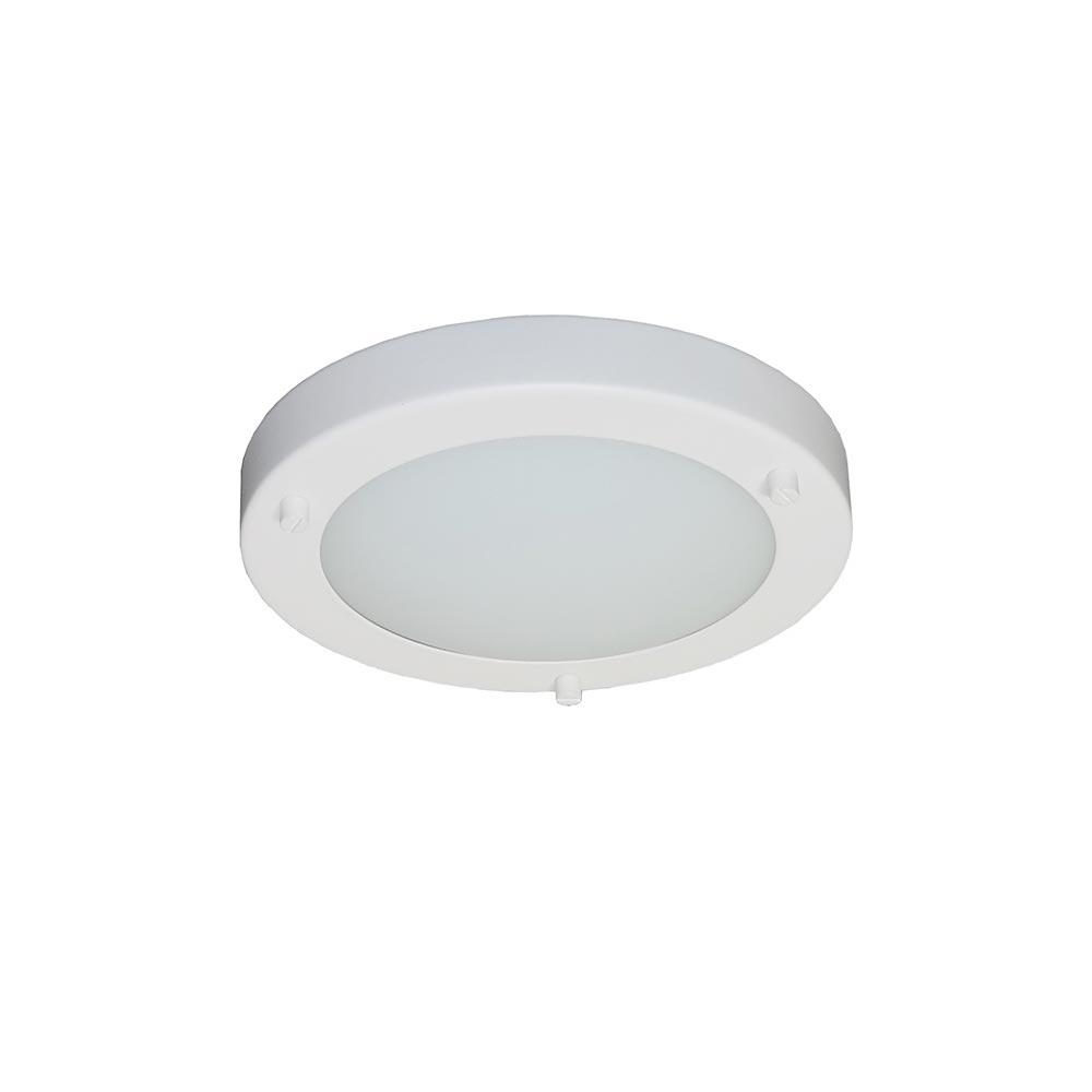 Artdelight Plafondlamp Yuca Ø 18 cm 10 Watt wit