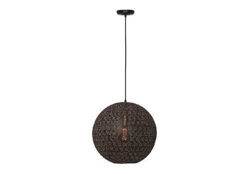Freelight Hanglamp Oronero Ø 30 cm zwart-goud
