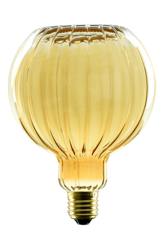 Segula Lamp Floating straight LED G125 8W 320LM 2200K Dimbaar Gold