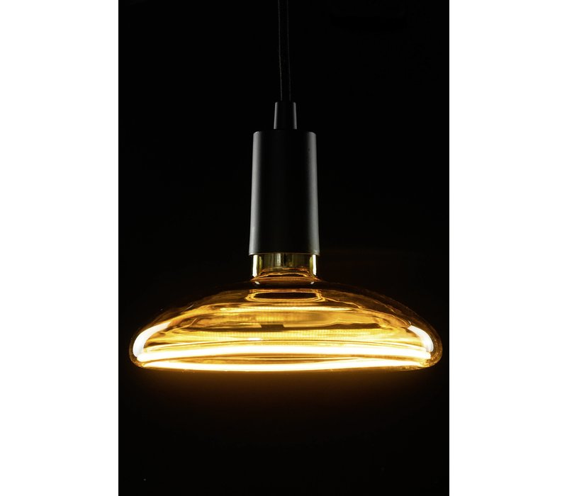 Lamp Floating LED Reflector 8W 320LM 2000K Dimbaar Smoke