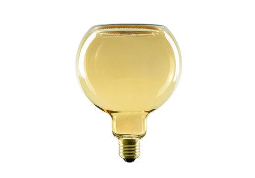 Segula Lamp Floating LED G125 8W 320LM 2200K Dimbaar Gold