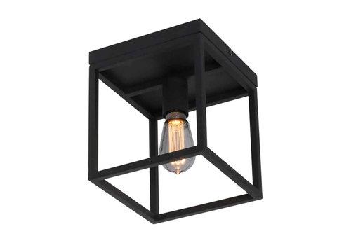 Freelight Plafondlamp Novanta B 22 cm H 25 cm Zwart