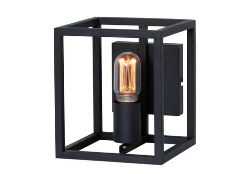 Freelight Wandlamp Novanta B 18 cm H 21 cm Zwart
