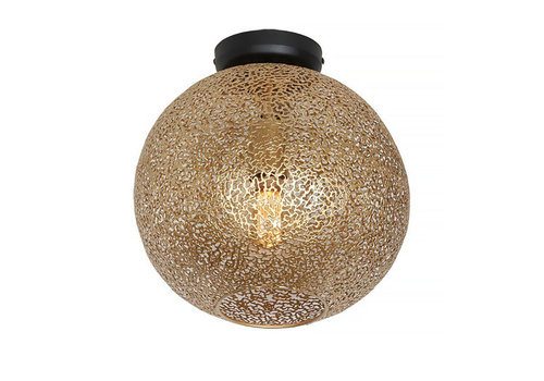 Freelight Plafondlamp Oro Ø 30 cm mat-goud