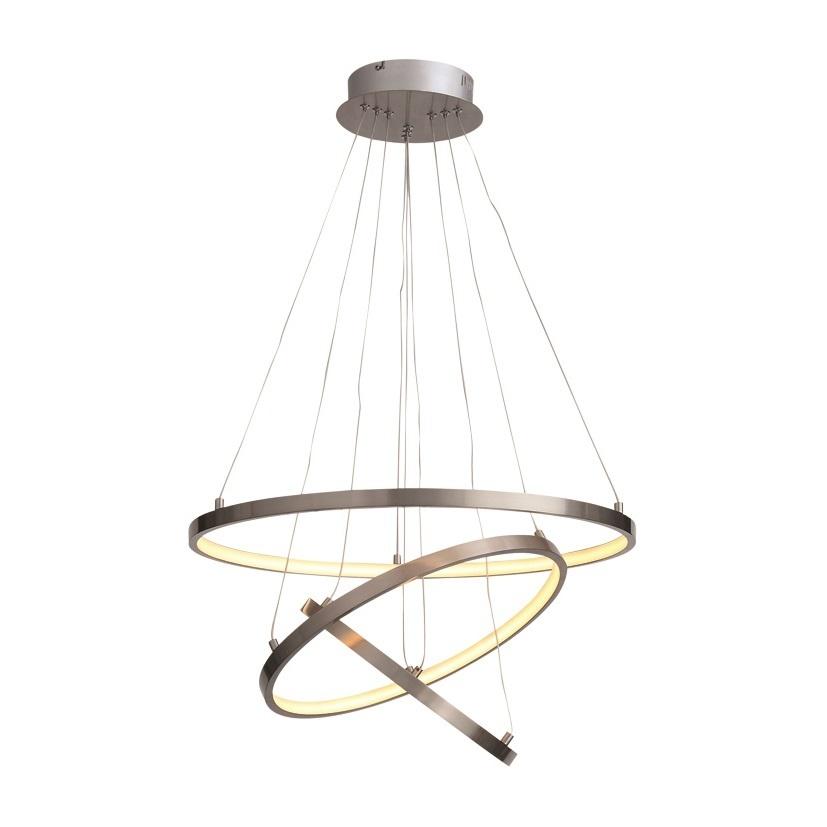 Freelight Hanglamp Dione Ø 60 cm mat chroom