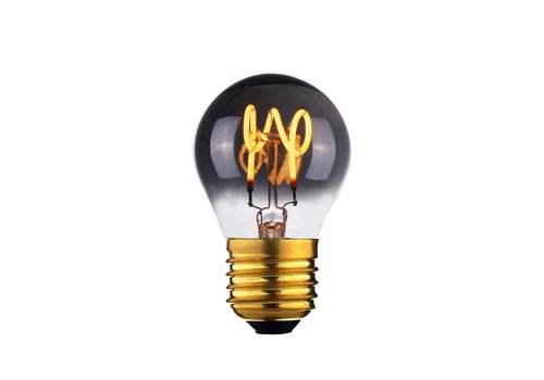 Highlight Lamp LED E27 kogel 4W 60 LM 2200K Dimbaar rook