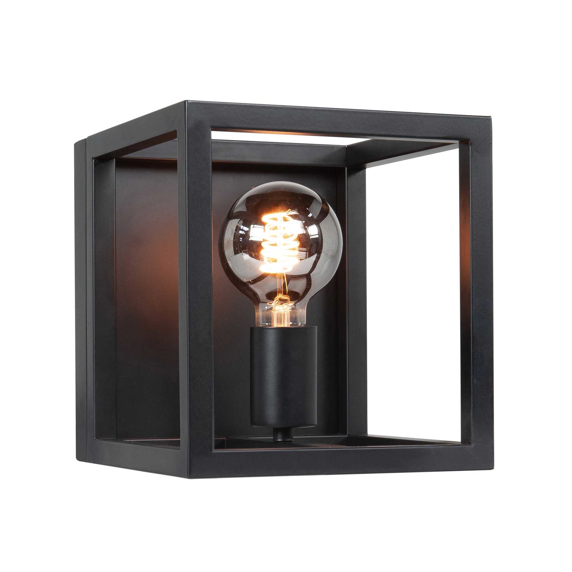 Highlight Wandlamp Fragola B 20 cm H 22 cm zwart