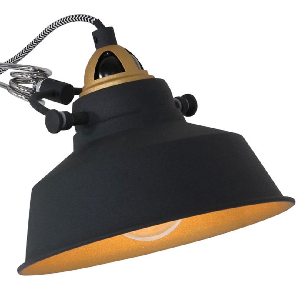 Mexlite Wandlamp mexlite nove zwart