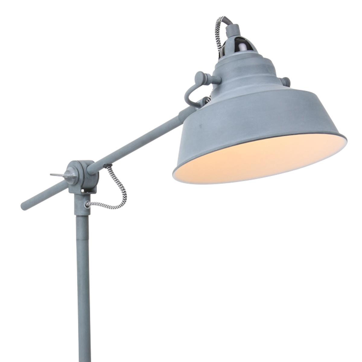 Mexlite Tafellamp mexlite nove grijs