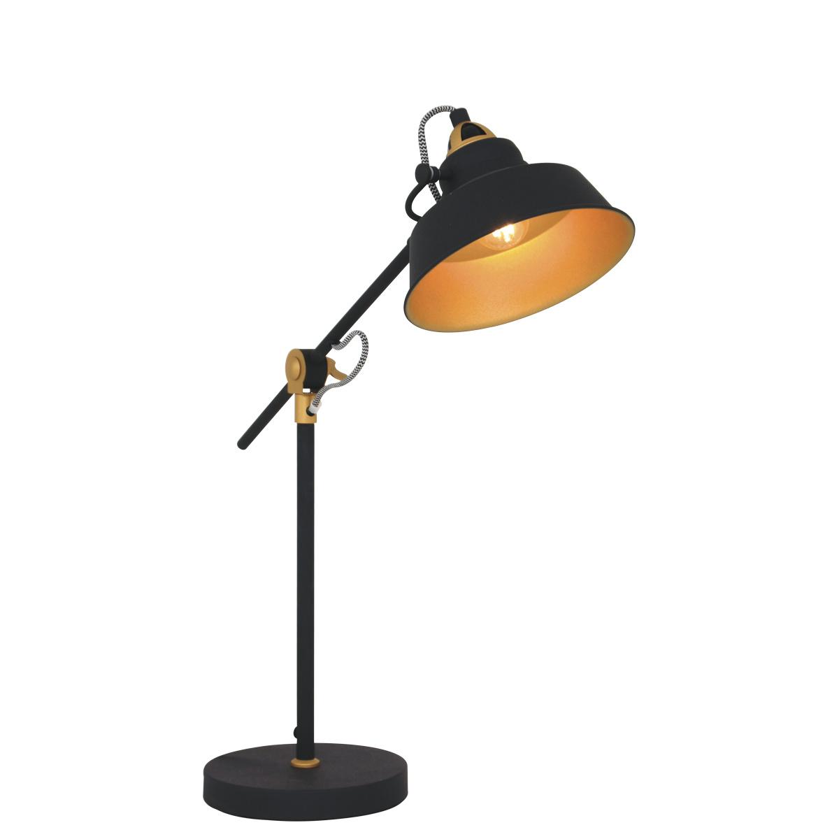 Mexlite Tafellamp mexlite nove zwart