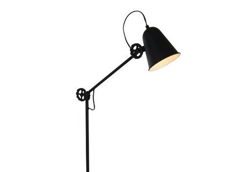 Anne Light & home Vloerlamp dolphin zwart