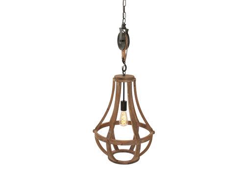 Anne Light & home Hanglamp liberty bell 1349be beige