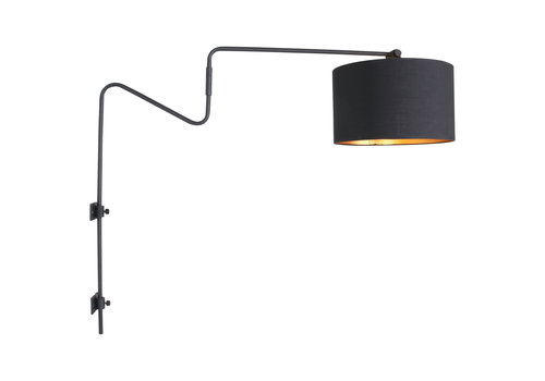 Anne Light & home Wandlamp anne linstrom 2131zw staal