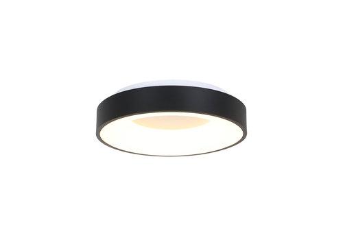 Steinhauer Plafondlamp Ringlede Ø 38 cm 2562 zwart
