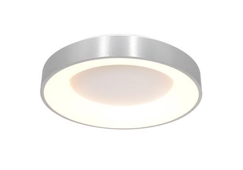 Steinhauer Plafondlamp Ringlede Ø 48 cm 2563 zilver