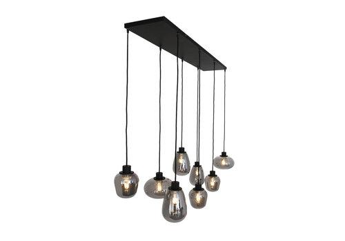 Steinhauer Hanglamp reflexion L 145 cm B 25 cm 2680 zwart