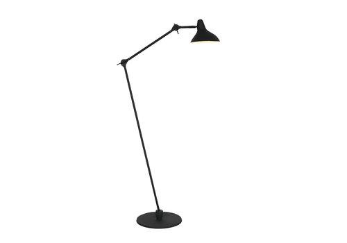 Anne Light & home Vloerlamp anne kasket 2691zw zwart