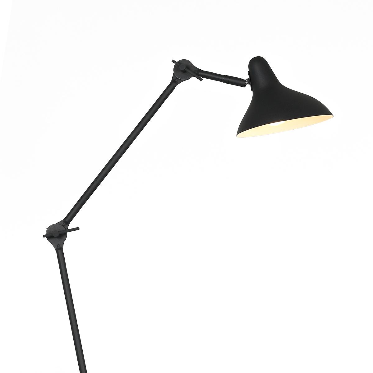 Anne Light & home Tafellamp anne kasket 2692zw zwart