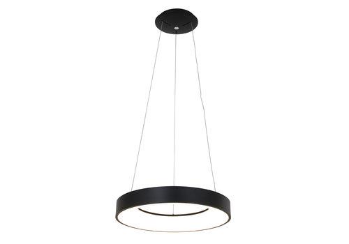 Steinhauer Hanglamp Ringlede Ø 48 cm 2695 zwart