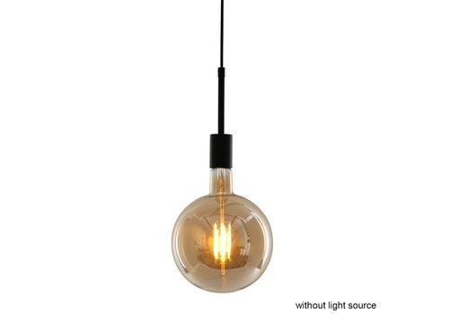 Mexlite Hanglamp mexlite minimalics 2701zw zwart