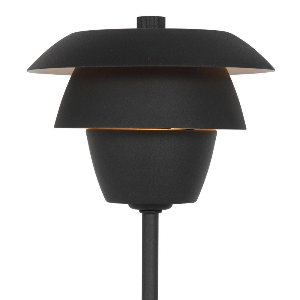 Anne Light & home Tafellamp bordlampe anne light en home 2731zw zwart
