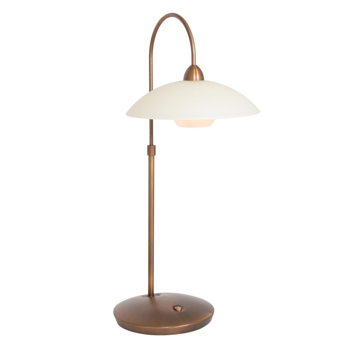 Steinhauer Tafellamp sovereign classic LED 2742br brons