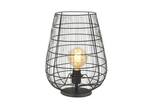 Anne Light & home Tafellamp anne light en home gloom 3002zw zwart